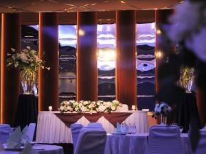 富士の間での披露宴演出