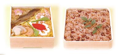 ちらし寿司・赤飯