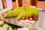 竹をモチーフにしたウエディング和ケーキ